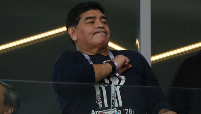 Argentina didn't draw because of Messi's missed penalty - Maradona