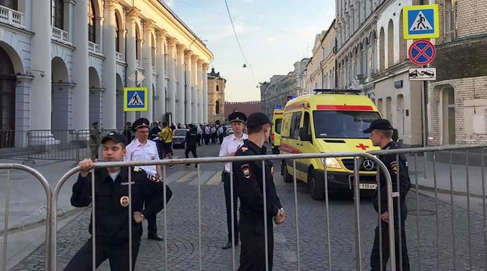Three still in hospital after taxi hits crowd near Kremlin