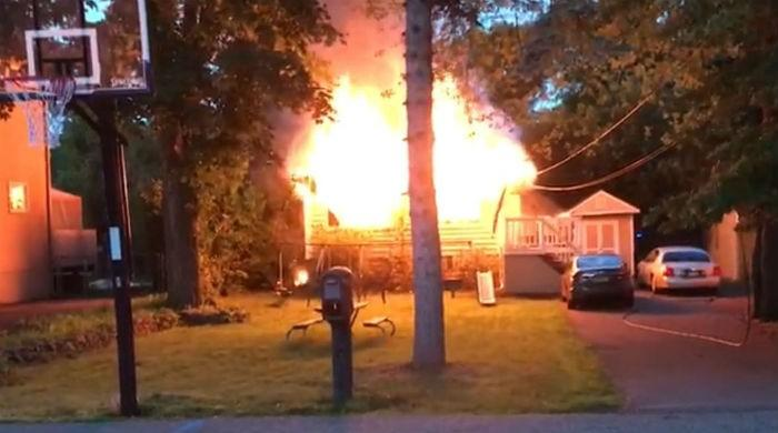 House of Pakistani-American gutted in New Jersey fire