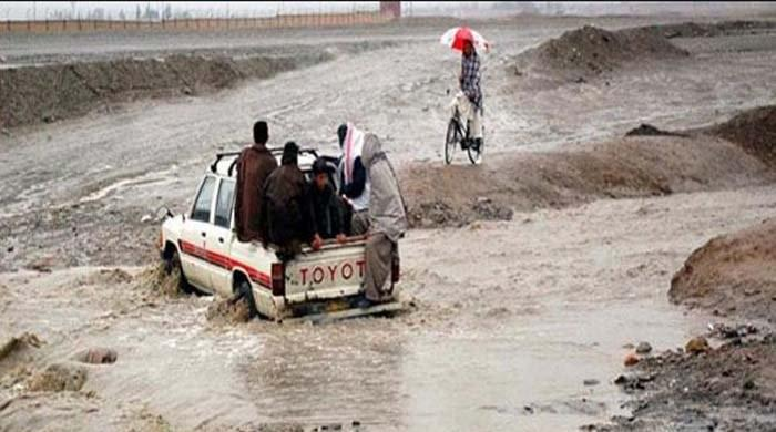 Traffic suspended on Harnai national highway as heavy rains lash Quetta