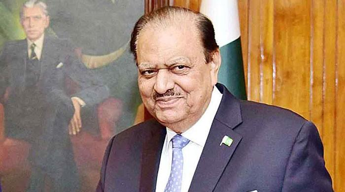 Mamnoon Hussain to visit Tajikistan on official visit