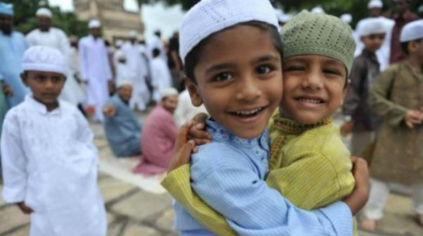 Children enjoy Eid festivities