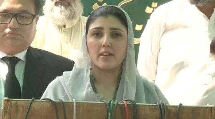 Ayesha Gulalai's NA-53 nomination papers challenged