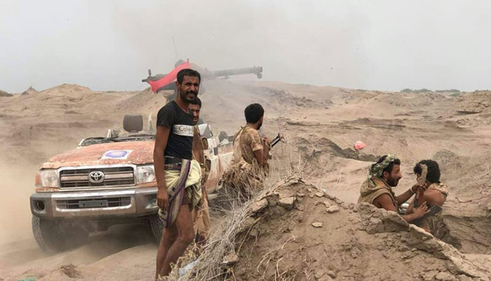 Saudi and UAE coalition forces enter Yemen's Hodeidah airport