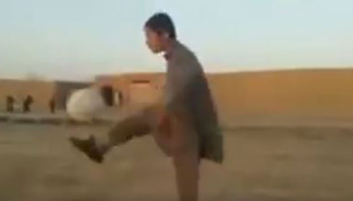 Young boy from the remote province of Balochistan goes viral with stunning football tricks