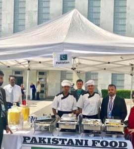 Pakistan showcases products, cuisine at annual UN bazaar