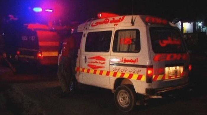 Three dead, two injured in accident in Kasur accident