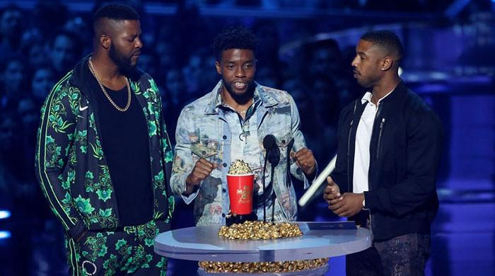 Heroes, on screen and off, win big at MTV Movie & TV Awards show