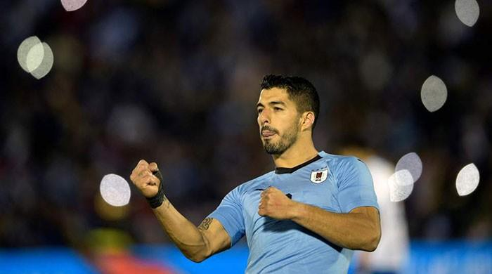 Luis Suarez seeks World Cup redemption as he reaches 100 caps
