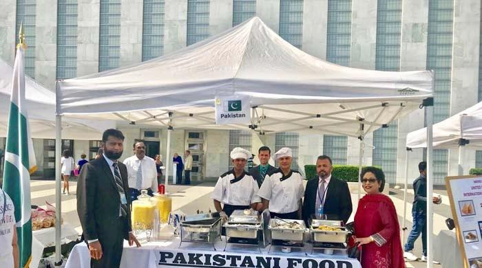 Pakistan showcases products, cuisine at annual UN bazaar