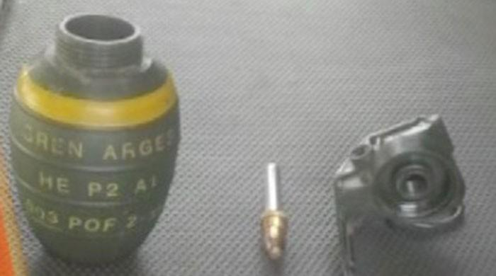 Hand grenade defused in Islamabad's Sector I-10