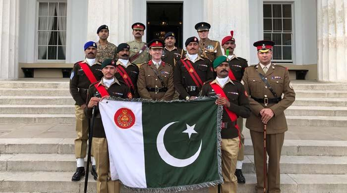 Pakistan Army team wins military drill competition in Sandhurst, UK