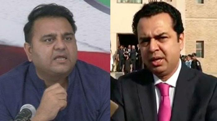 Fawad, Tallal Chaudhry hurl indecent words at each other on live show