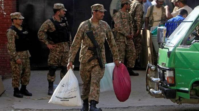ECP requests 350,000 military troops for General Election 2018