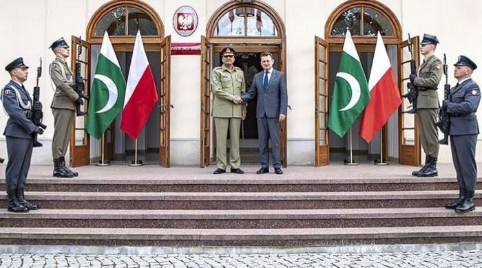 Polish military leadership lauds Pakistan's contributions for peace, regional stability