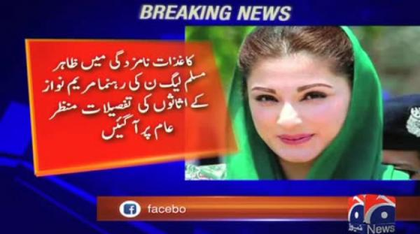 Maryam spent over Rs6m on foreign trips in last three years