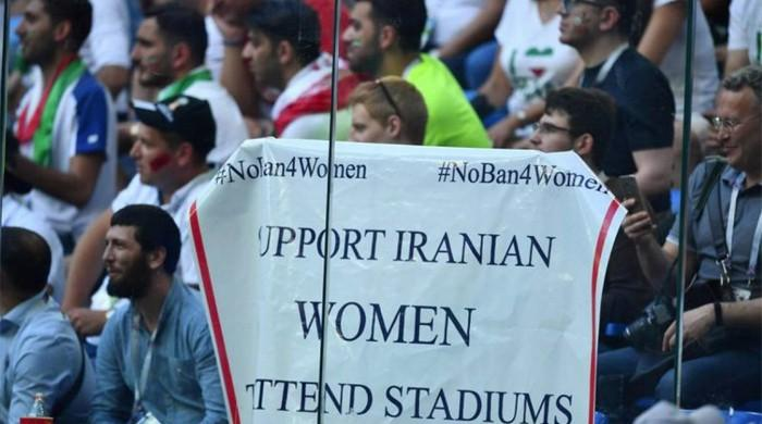 Iran women's activist says blocked from protesting at Russia World Cup