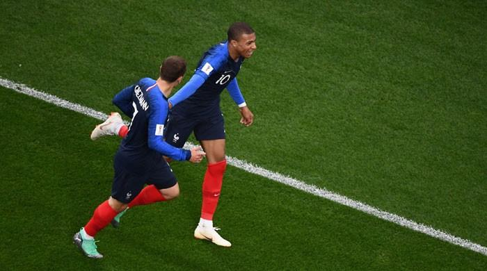 Teenager Mbappe sends France through as Peru knocked out
