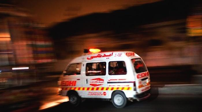 Two dead as speeding tractor-trolley ploughs into motorcycle in Lahore
