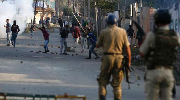 Indian forces martyr five Kashmiris in IoK