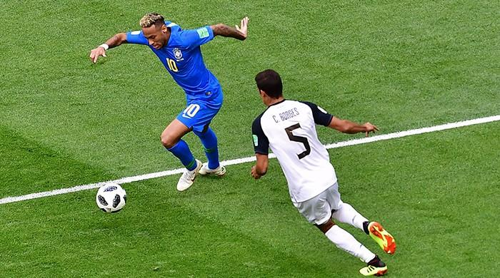 Brazil beat Costa Rica 2-0, edge towards World Cup last 16