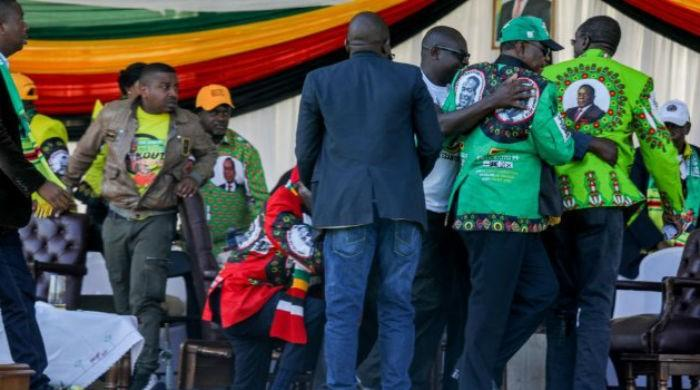 Zimbabwe rally blast injured 41: minister