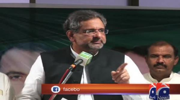 Shahid Khaqan Abbasi claims only PML-N can solve problems of people