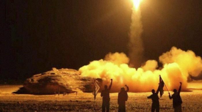 Saudi air defenses intercept missiles above capital: coalition