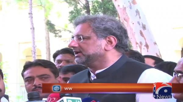Anyone found guilty of delaying polls should be charged with treason: Abbasi