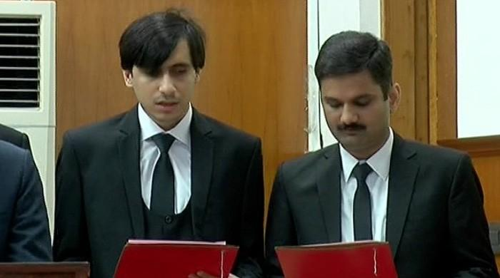 Pakistan's first blind judge takes oath