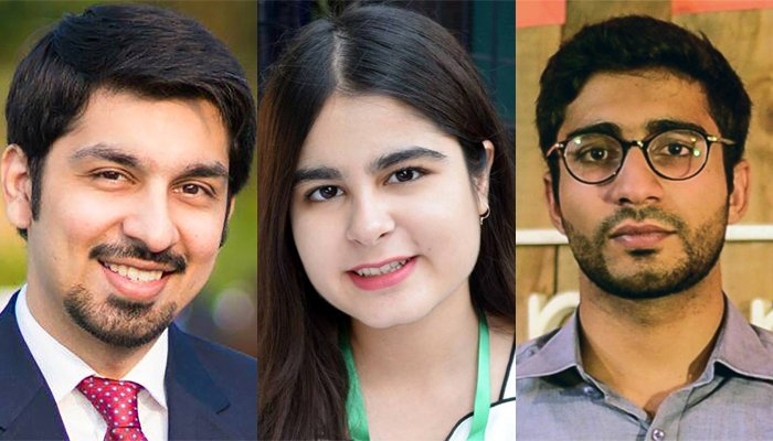 Three young Pakistanis receive Queen's Young Leaders award