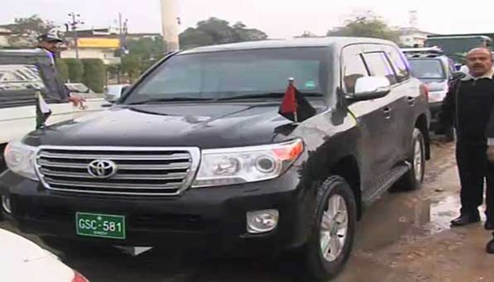 Efforts To Get Back His Department S Vehicles Which Are Being Used By Former Officials Of The Provincial Government Beyond Their Official Enlement