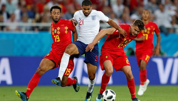 England face Belgium with top spot at stake