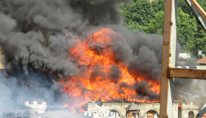 Fire engulfs celebrated TV drama set in Istanbul: official | World
