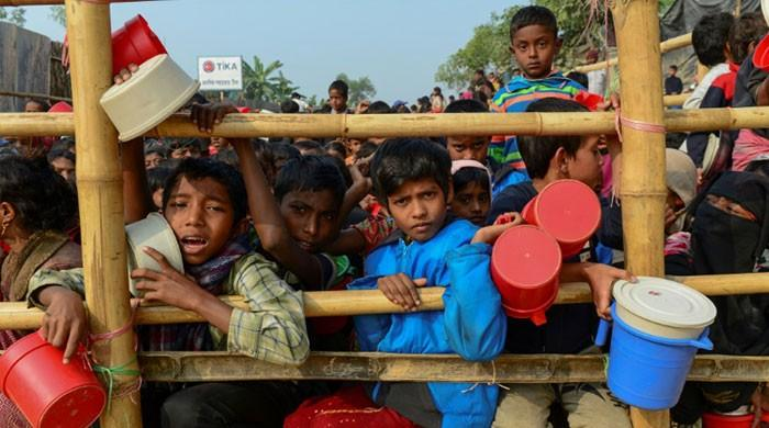 UN chief hears of 'unimaginable' atrocities as he visits Rohingya camps