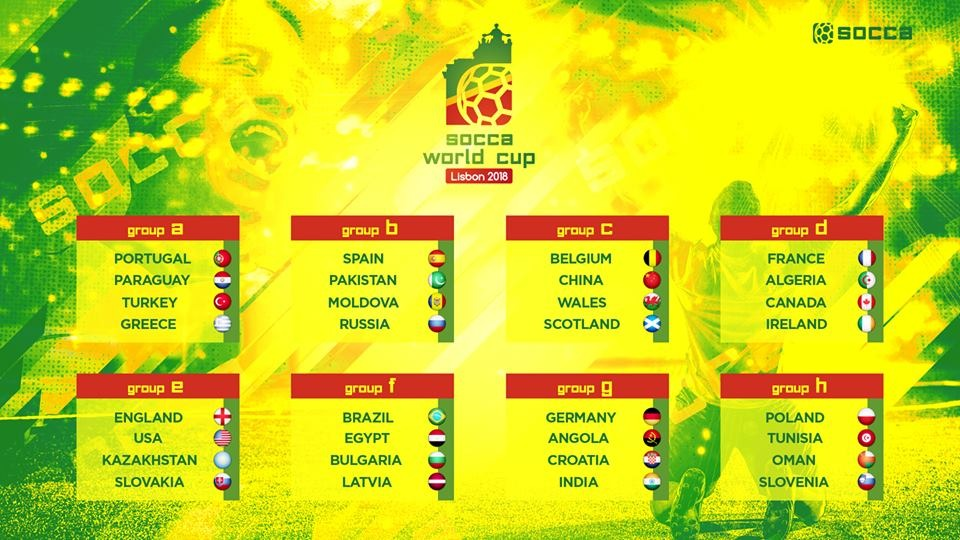 socca world cup groups