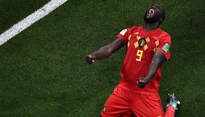 Romelu Lukaku as scored four goals in four matches
