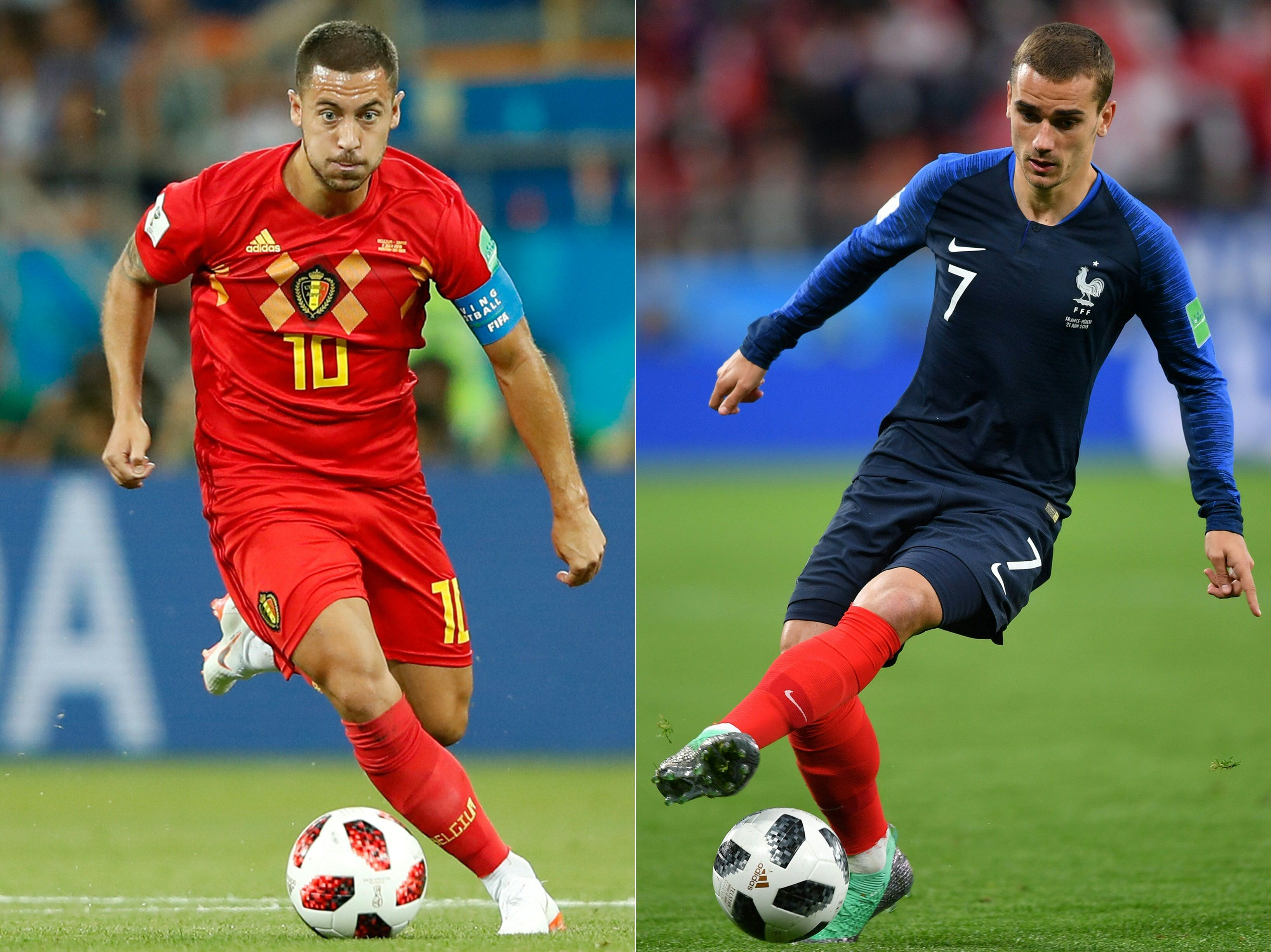 Belgium star Hazard: I used to support France growing up