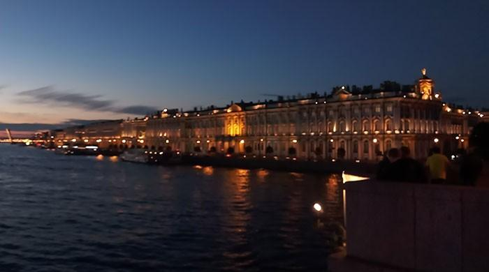 St Petersburg: White nights and football fever