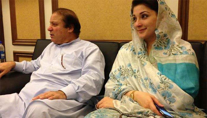 Nawaz Sharif, daughter board flight to Lahore