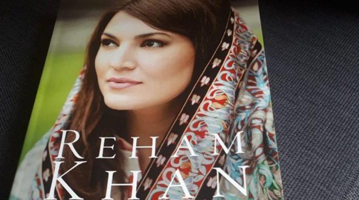 Reham Khan's autobiography released on Amazon