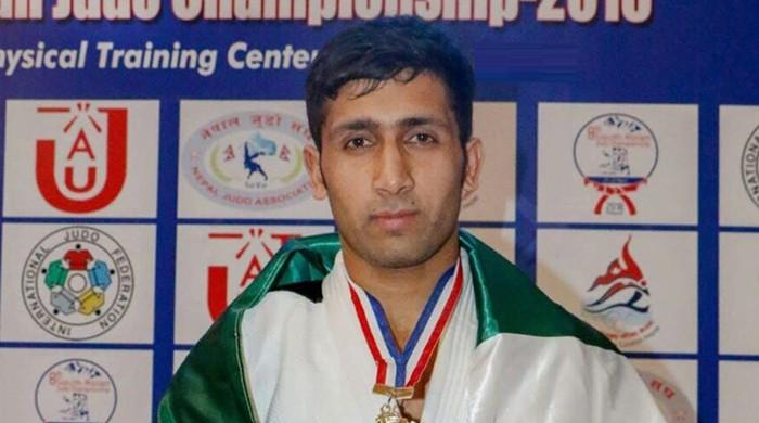 Pakistan's Qaisar Khan wins Bronze at judo competition in Hong Kong