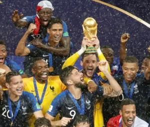 France win World Cup after beating Croatia by 4-2 in Moscow thriller