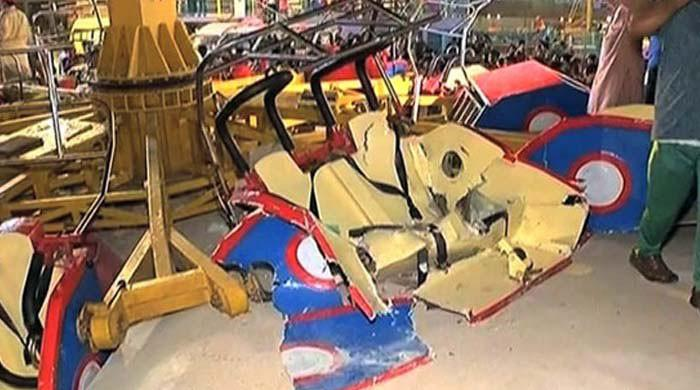 Karachi amusement park swing accident caused by broken bolts: report