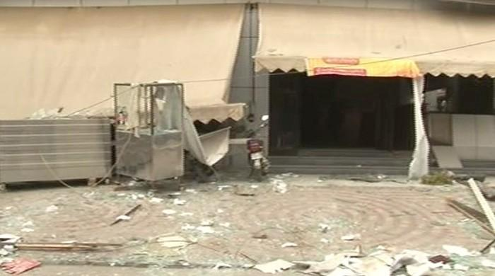 Multan hotel explosion claims three lives