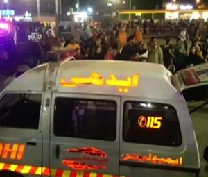 Celebrities, politicians express shock over Karachi amusement park crash