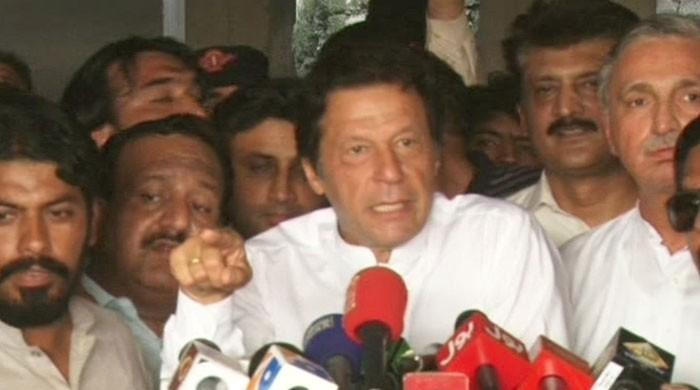 People residing near capital in dire condition, says Imran Khan