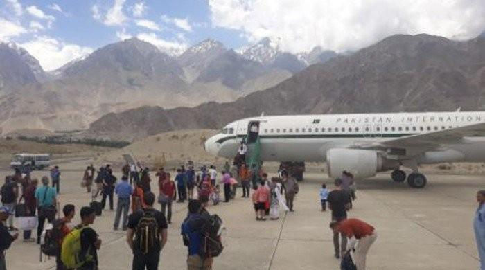SC takes notice after passengers complain flight delay at Skardu airport