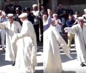 CJP Saqib Nisar dances to traditional tunes in Gilgit-Baltistan