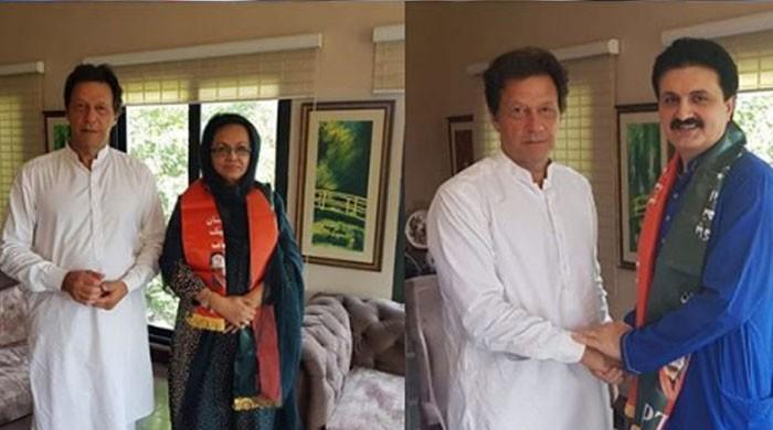 Senator Amjal Wazir, Fiza Junejo join PTI
